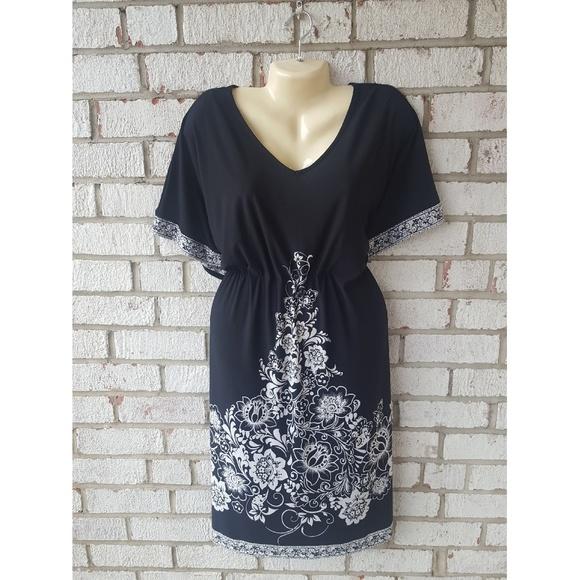 plus size batwing dress
